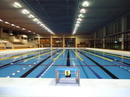 倉敷市屋内水泳センター 50mプール